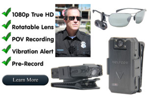 Main features of Vision body camera.