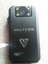 Police body camera testimonial about WOLFCOM