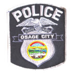 Osage city police badge