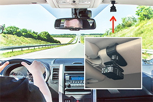 clip on In-car camera system