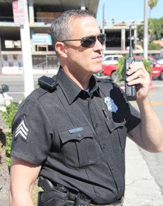 body camera on cop