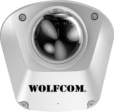 Dome camera for police car.