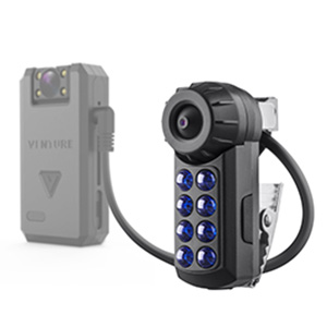 night vision external camera attachment for wolfcom vision police body camera