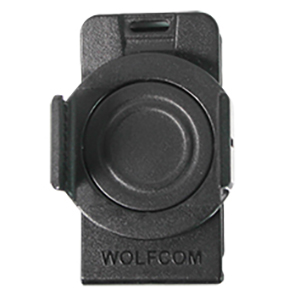 wolfcom vision police body camera 360-degree rotatable clip