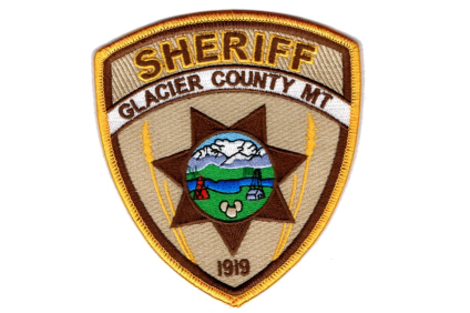 glacier MT sheriff office badge