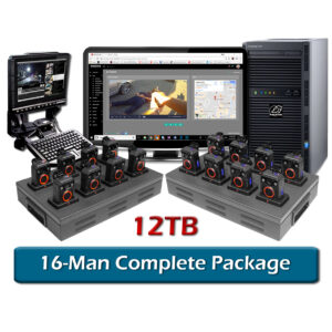 complete 16-man halo body camera package