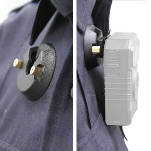 pin lock clip allows you to mount your halo police body camera anywhere on your uniform