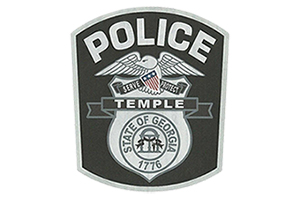 temple police department patch