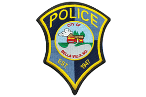 bella villa police department patch