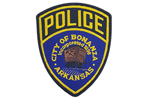 bonanza police department patch