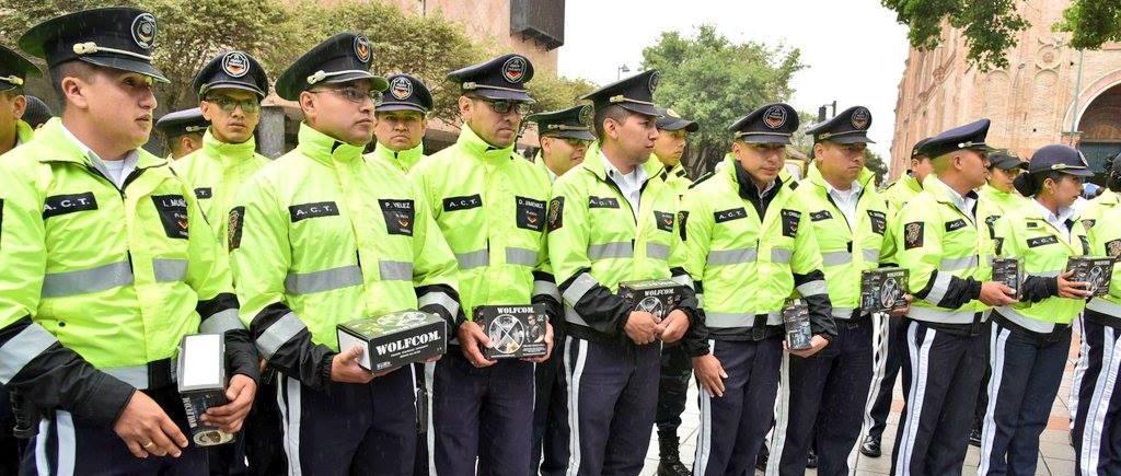 Alcaldía de Cuenca in Ecuador has purchased 50 WOLFCOM 3rd eye body cameras