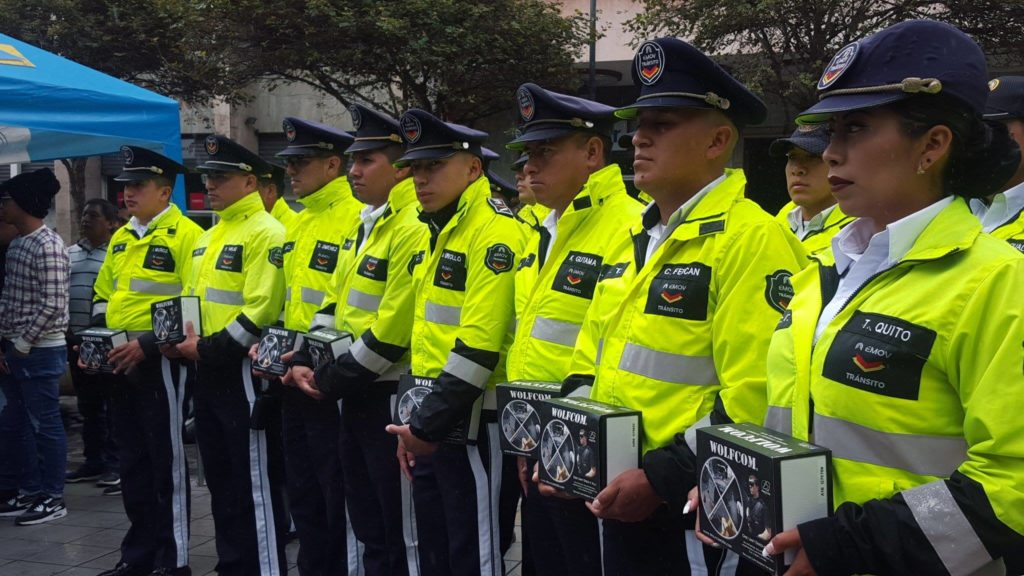 Alcaldía de Cuenca in Ecuador has purchased 50 WOLFCOM 3rd eye body cameras