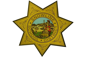 snowline school district police department badge