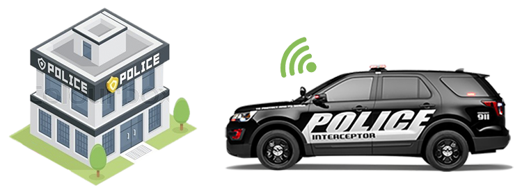 wolfcom offers wireless uploads for police in-car camera videos