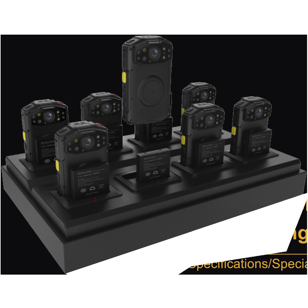 8-slot docking port commander square