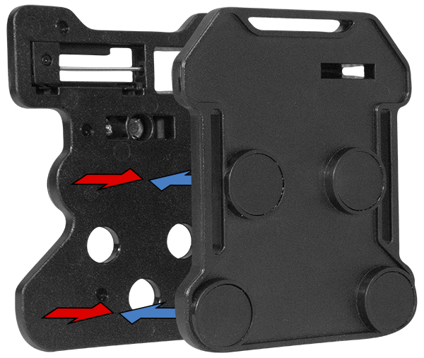 The WOLFCOM Commander body camera has an optional magnetic mount