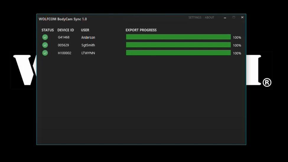 bodycam sync screenshot