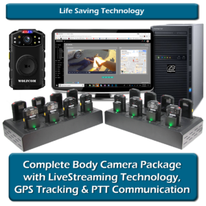 4G/LTE Commander body camera package with life saving technology